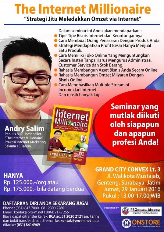 BROSUR seminar Andry Salim