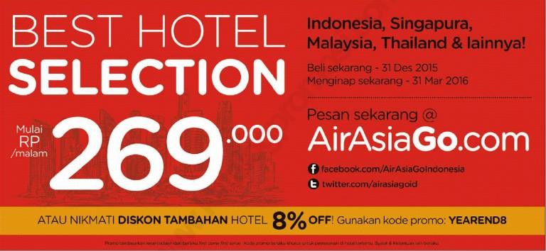 Promo Hotel Terbaru – AirAsiaGo