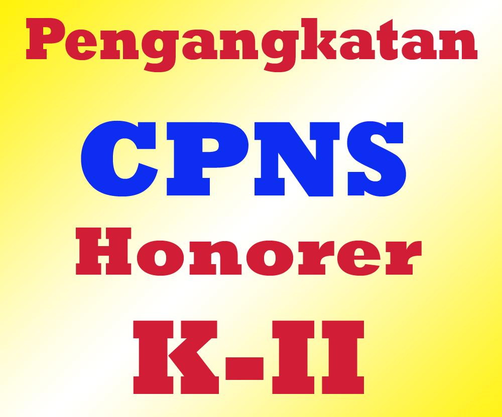 Pengangkatan CPNS Kategori 2