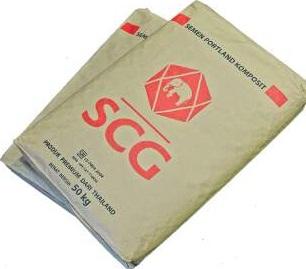 info kerja semen scg